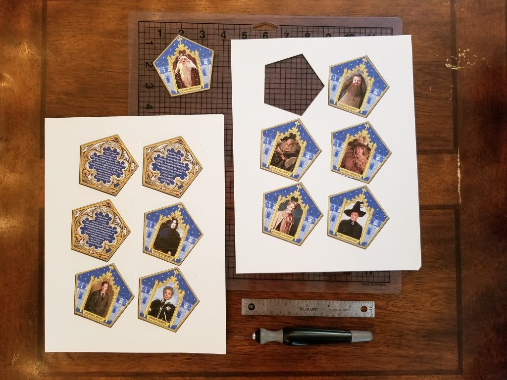 Harry Potter Chocolate Frog Boxes - Candidly Crafted For Chocolate Frog Card Template